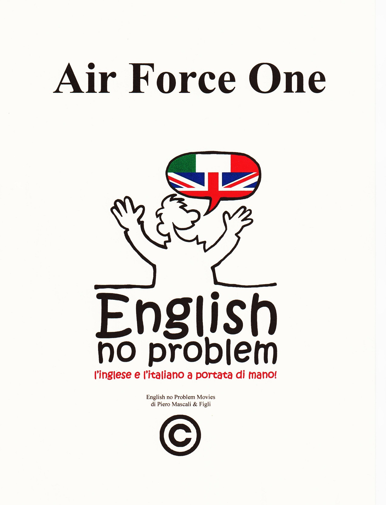 Air force one english no problem